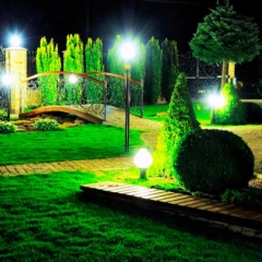 Ландшафтное освещение: главная информация